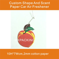Hanging Air Fragrance Paper Car Freshener