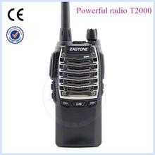 walkie-talkie ZASTONE T2000 UHF 400-480MHz 8W powerful walkie talkie