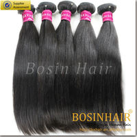 Charming 6A unprocessed 100% Virgin human hair in thailand