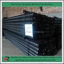 Alibaba hotest products! Black-painted studded t post price low(manufacturer)