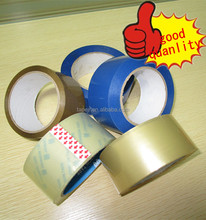 strong adhesive solvent based bopp packing tape