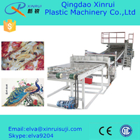 plastic sheet machine decorative board extruder