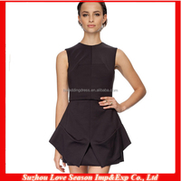 HC 4105 High Quality Cheap Price The Hot Sale Scoop classic LBD short black dress