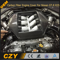 VR38 Carbon Fiber Engine Cover For Nissan GT-R R35 GTR 08-15