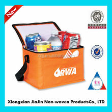 cheap insulated promotional non woven wine/lunch cooler bag