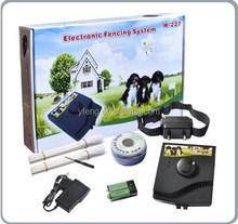 2015 hot selling pet In-Ground Underground Shock Collar Dog Training Pet Dog Electric Fence