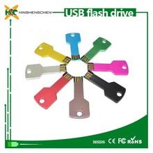 usb key flash drive 1GB 2GB 4GB 8GB usb flash drive key shape