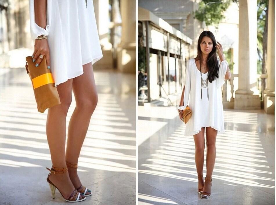 Обувь С Шифоновым Платьем