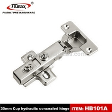 temax invisible hinge with hydraulic cylinder