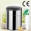 14L trash steel waste bin container with ashtray bin