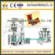 Completo automático de la máquina de embalaje con la combinación weighter, maquinaria de embolsado
