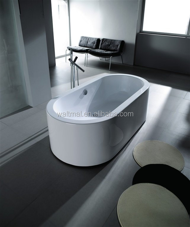 Marbella Modern Free Standing Roll Top Bath Tub Wtm 02101