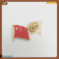 High Quality Custom Country Flag Pin China Flag Lapel Pin