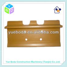 bulldozer D40 single grouser track shoe steel track plate pad