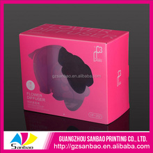 Hot Sales Small Professional Printing Colourful Triangle Shape Gift Box For Pakaging