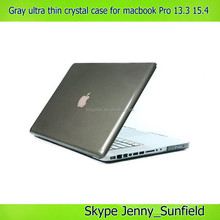 for macbook pro crystal case , 11colors ultra thin clear crystal case for macbook pro 13.3 15.4