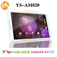 8 inch A33 Quad Core Android Tablet/Octa Core/Bluetooth/IPS Screen/3G/Free Game Download 16gb rom