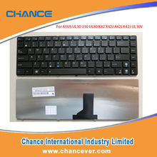 Good Quality Laptop Keyboard For ASUS UL30 BLACK FRAME Spanish Version Keyboard