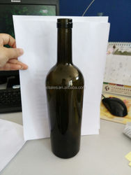 LIMPID 500ML 750ML GLASS SPARKLING BOTTLE FOR CHARMING WATER VODKA