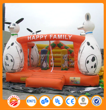 Chinese factory supply inflatable fun city games bouncy castle for sale