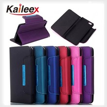 High Quality leather belt clip flip wallet case for iphone 6 leather wallet case