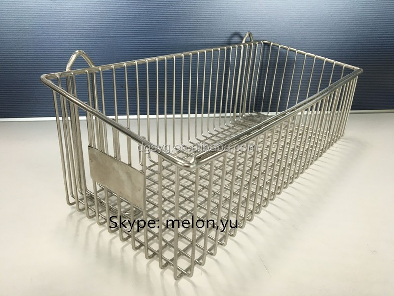 Stainless Steel Wall Wire Baskets/Wall Mounted Baskets, View Wall ...