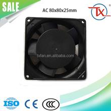 80mm 8025 80x80x25 110v 380v 220 volt 8025 ac cooling fan motor industry fan motor