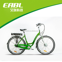 700c chinese city electric bike with intelligent speed sensor