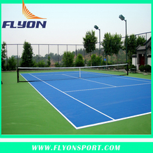 Silicone PU Material Court for Tennis Indoor Sport flooring for tennis court Indoor Sport court for badminton