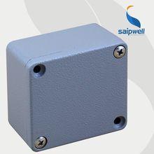 Saip/Saipwell Aluminum IP66 electronic enclosures beautiful design SP-FA2(120*80*55)