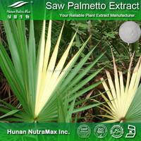 GMP Supplier Saw Palmetto Extract Fatty Acids 20%~90% CAS No. 84604-15-9
