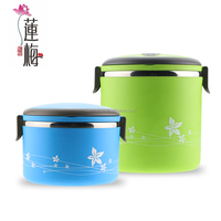 Stainless steel keep food warm containers