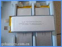 high discharge 20C e-racing car rc model lipo battery 3.2V 1500mAh GEB703496SH20