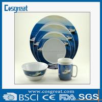 high qualtiy melamine tableware new design