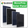Bluesun cheap design easy install small DC system 150w panel solar kit