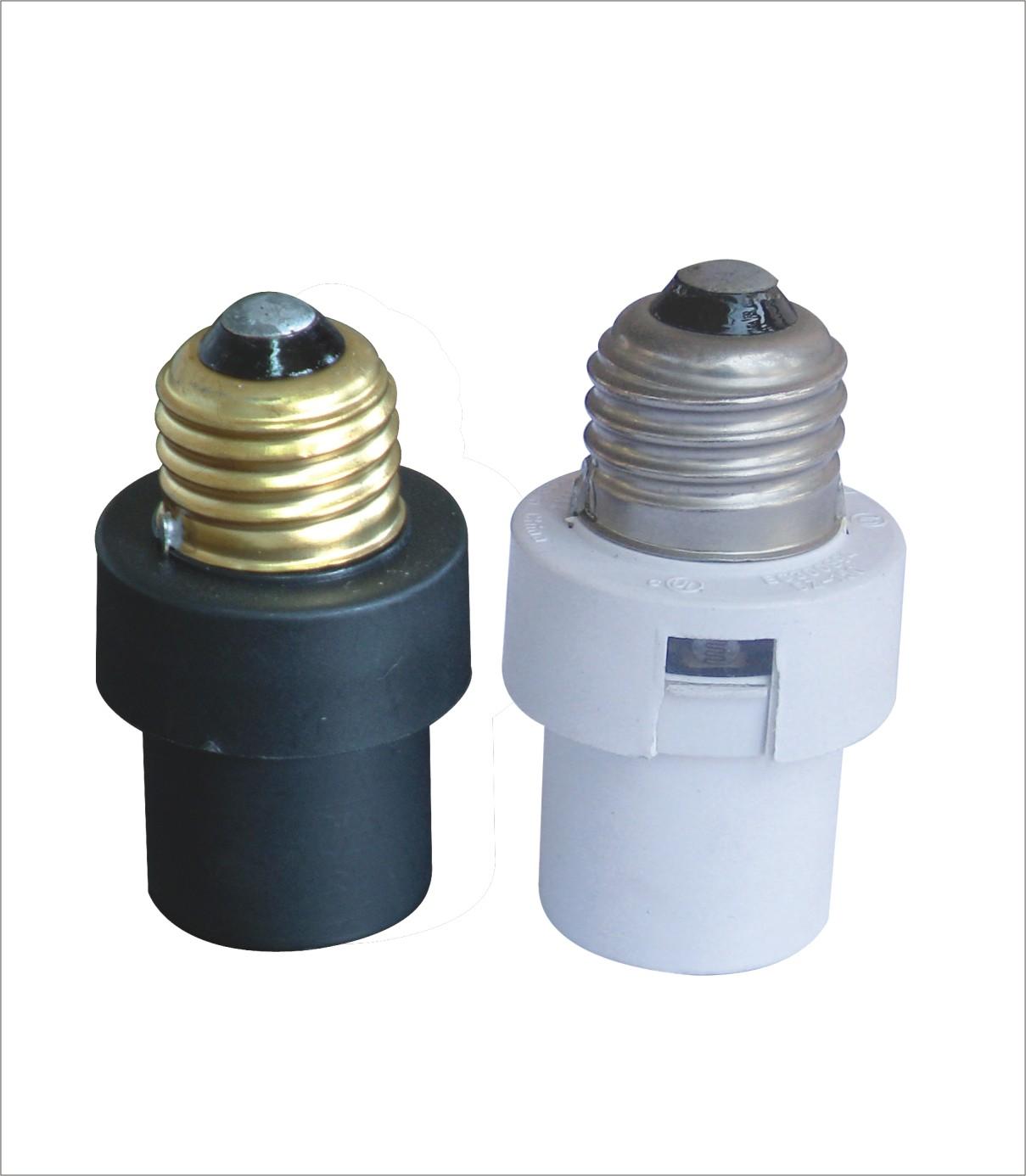 e26 outdoor motion light sensor switch bulb socket lamp. Black Bedroom Furniture Sets. Home Design Ideas