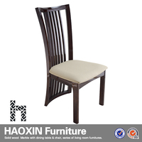 Modern style wooden dining chair furniture