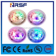 3W E27 Colorful Rotation LED Stage Light