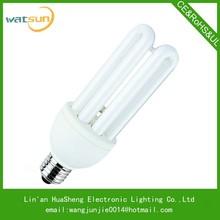 CE/GS/EMC/ROHS 3U cfl bulbs, fluorescent energy save lighting