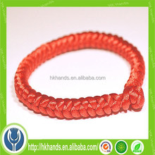 red lucky Chinese snake knot bracelet
