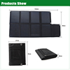 80W panel solar for outdoors