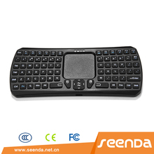 New arrival best hot selling bluetooth keyboard with touchpad keyboard for microsoft PC and Win8 PC