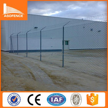 Low Price and High Quality chain link fence panels and electronic fence gate