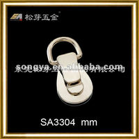 Song A Metal Personalized Silver plated bag hardware fitting dexterous Charm