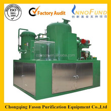 Separating moisture and oxides completely used cooking oil recycling machine