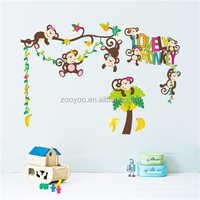 ZooYoo home decorate wall stickers baby rooms home accessory china import items decor for home (ZY1217)
