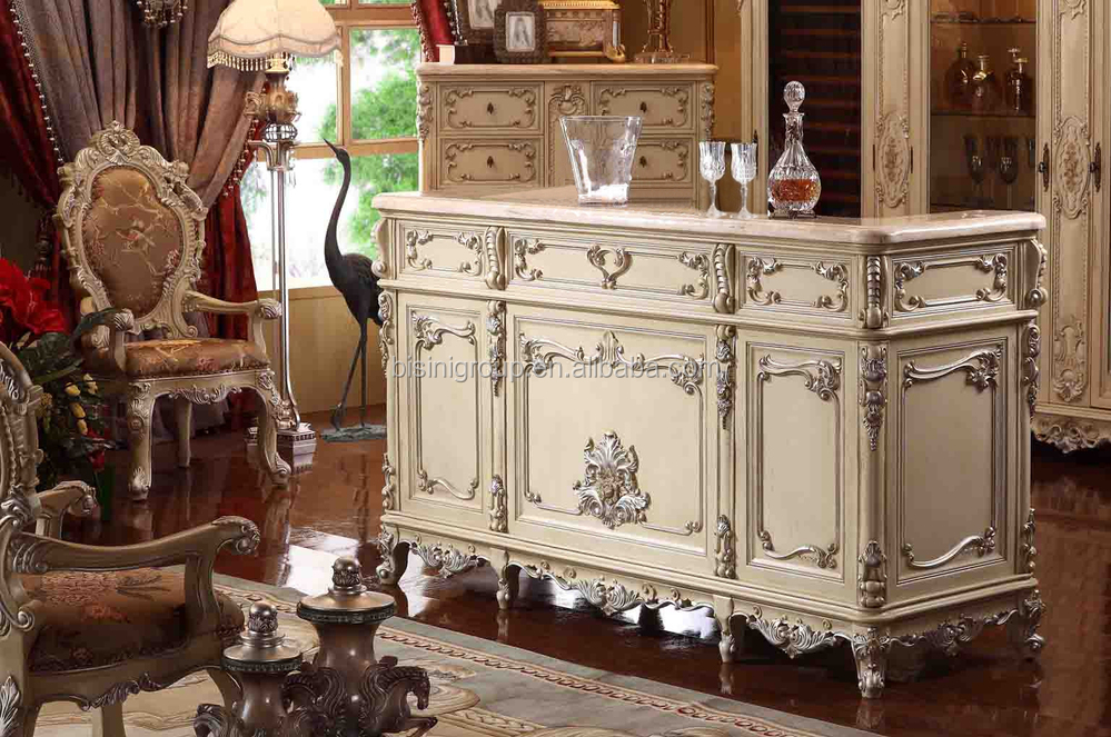 Furnishing carved wooden bar counter home bar designs bf09 for Bar casero de madera