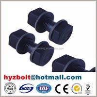 Black Finish Grade 8.8 hexagon head bolt