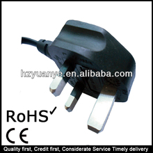 Industrial Shielded Portable Power Cord with Male Female Plug