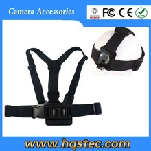 GP59 GoPros Accessories Chest Band with B model Head Band for GoPros 4/3+/3/2/1